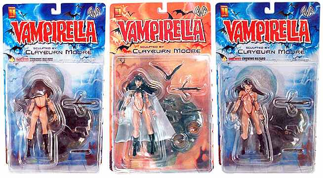 Vampirella Action Figure Case
