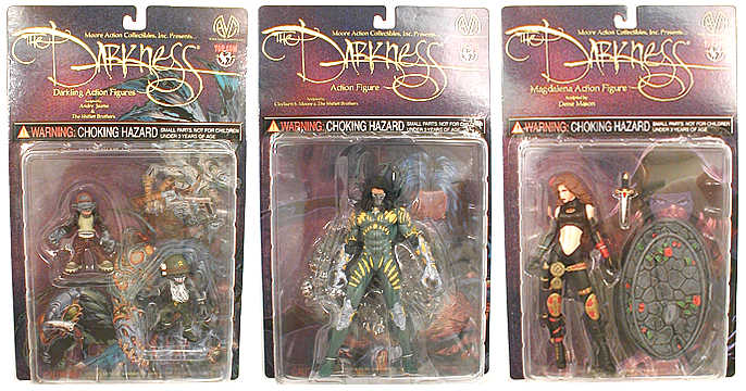 Darkness Action Figure Set