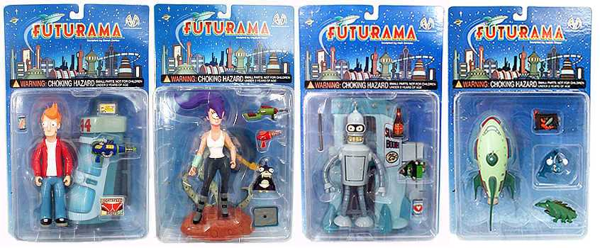 Futurama Figures (Series 1)