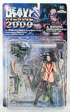 Heavy Metal FAKK2 Julie Figure