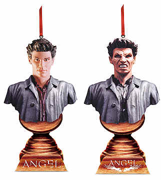 Angel Christmas Ornament Set