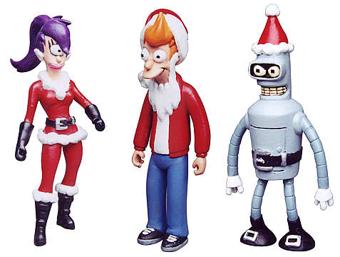 Futurama Holiday Ornaments