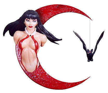 Vampirella Holiday Ornament