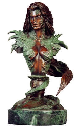Witchblade Bronze Bust