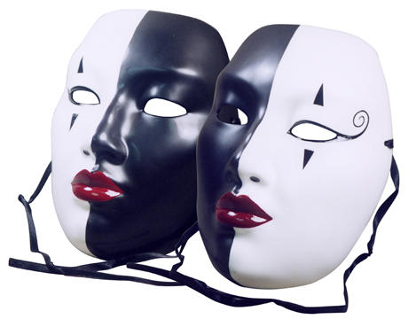 Siamese Twins Masks