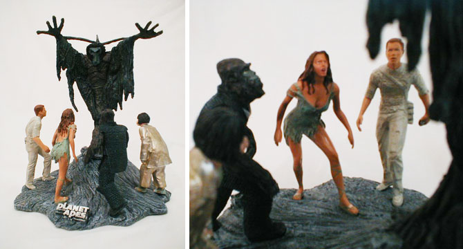 Planet of the Apes Diorama