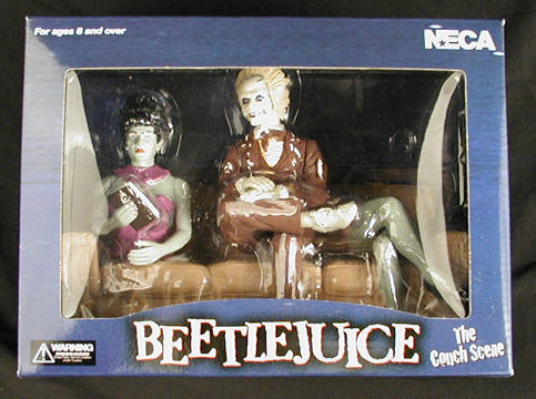 Beetljuice Couch Diorama