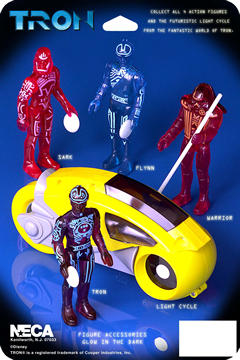 Tron Action Figure Asst.