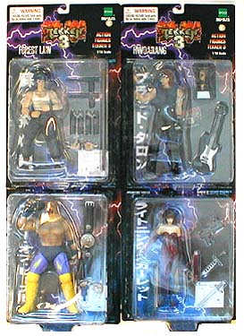 Tekken (Series 3) 4-Pack