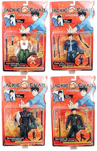 Jackie Chan Adventures Set