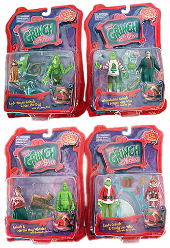 Grinch 2-Pack Figure Set