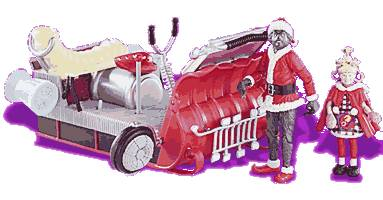 The Santa Grinch Sled