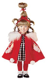 Cindy Loo Hoo Costume Ideas http://www.entertainmentearth.com/item_archive/items/Cindy_Lou_Who_Doll.asp