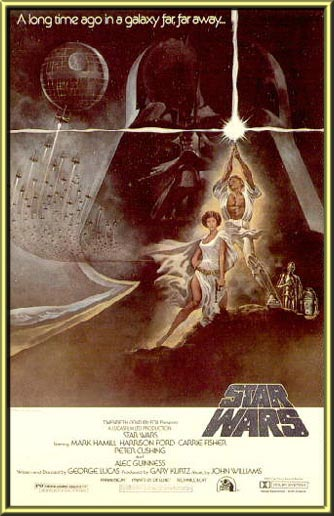 Framed: SW One Sheet A