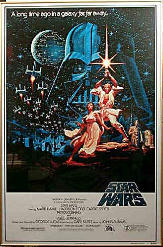 Framed: SW One Sheet B 15th An