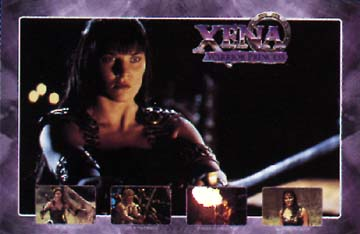 Poster: Xena with Sword