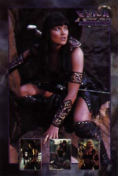 Poster: Xena Warrior Princess