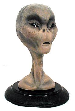 Real Alien Bust