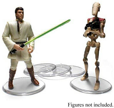 Star Wars Figure Stands 25-Pack