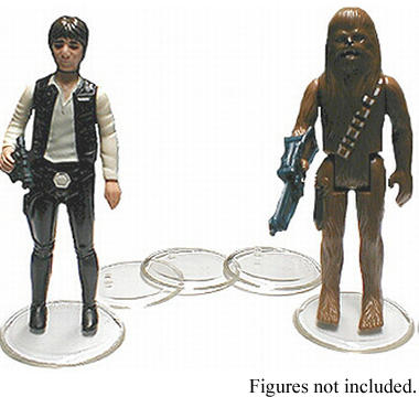 Star Wars Vintage Figure Stands 25-Pack
