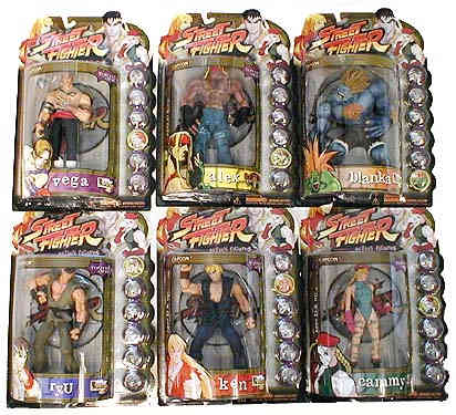 Street Fighter Figures Asst. 1