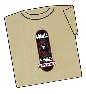 T-Shirt, Gorilla Warfare