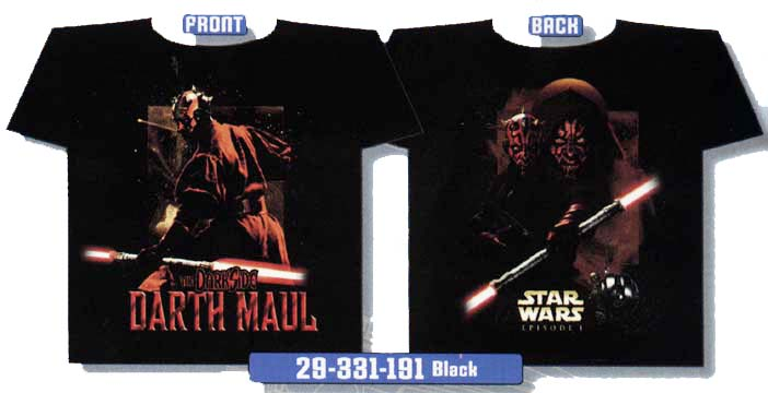 T-Shirt: Darth Maul: Dark Side