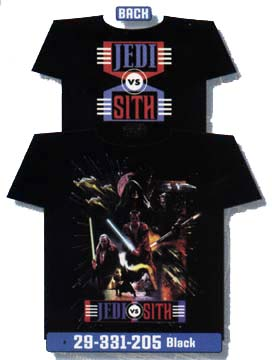 T-Shirt: Jedi v Sith, Battle