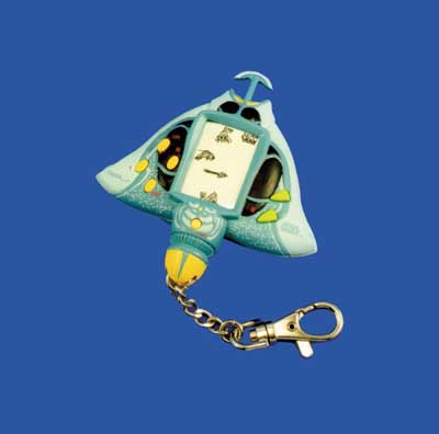 Star Wars Episode 1 Gungan Sub Escape Keychain Game