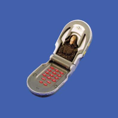 Darth Maul/Sidious Flip Phone