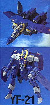 Macross: YF-21 Omega One