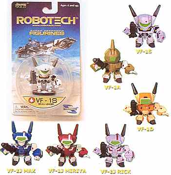 Robotech Super Deformed 6-Pack