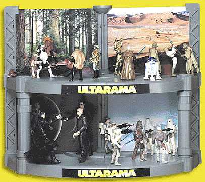 Ultarama Action Figure Display