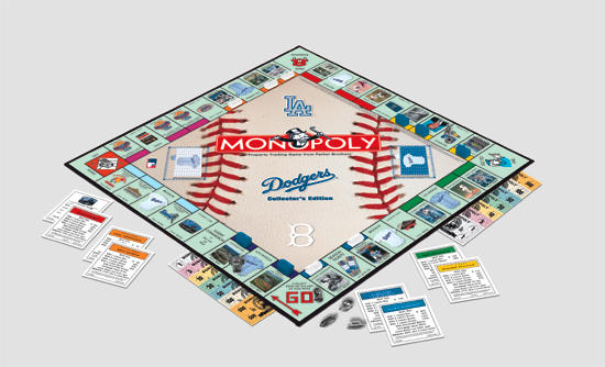 Dodgers Monopoly