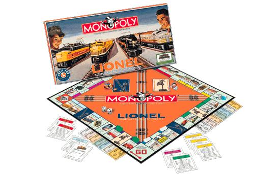 Lionel Trains Monopoly