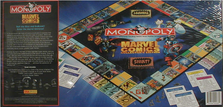 Marvel Comics Monopoly