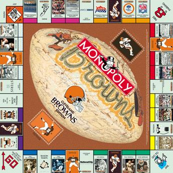 Cleveland Browns Monopoly