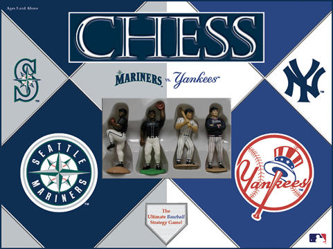Mariners vs. Yankees Chess