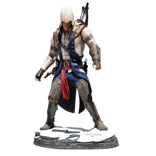Life-Size Assassin's Creed Statue of Connor Kenway Is Poised to Strike!