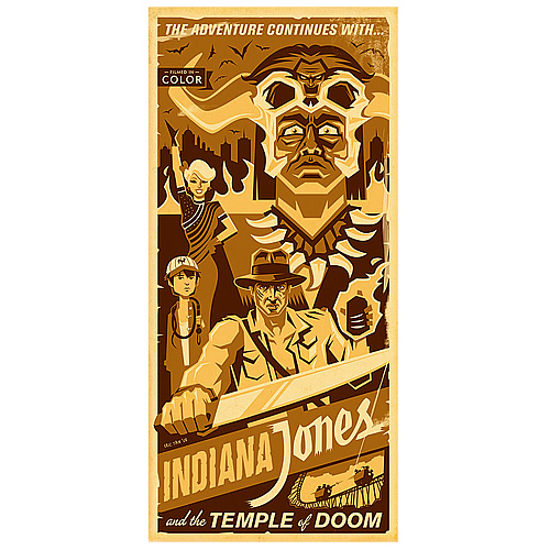 Daily Deal - Indiana Jones Artwork 75% Off!