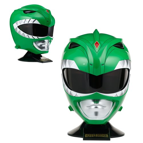Go Go Power Rangers! - Classic Green Helmet