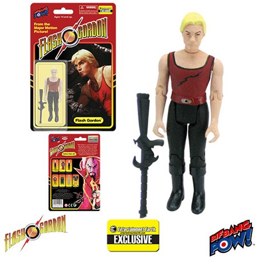 Flash Gordon in Red Tank Shirt 3 3/4-Inch Figure - EE Excl.