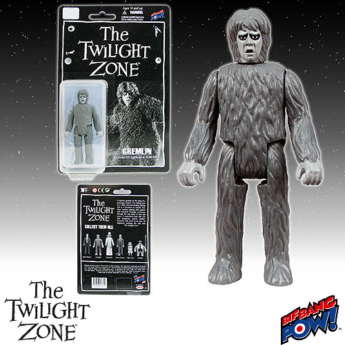 The Twilight Zone Gremlin 3 3/4-Inch Action Figure