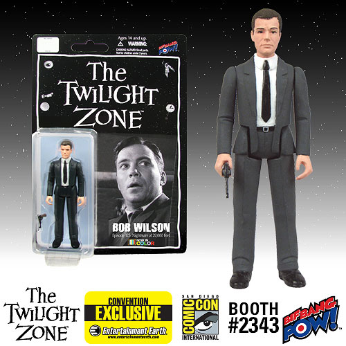 Twilight Zone Bob Wilson 3 3/4-Inch Figure Color -Con. Excl.
