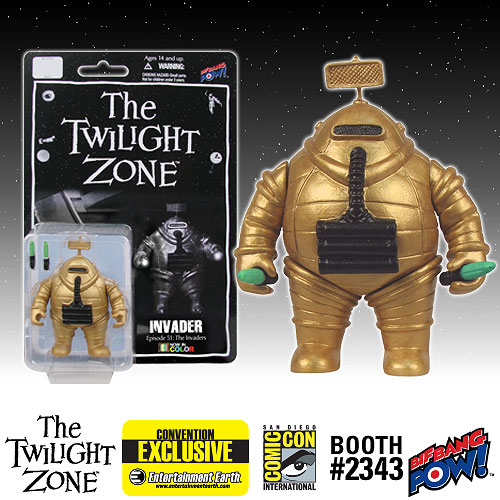 The Twilight Zone Invader 3 3/4-Inch Figure Color-Con. Excl.