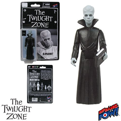 Twilight Zone Kanamit In Work Uniform 3 3/4-inch Figure