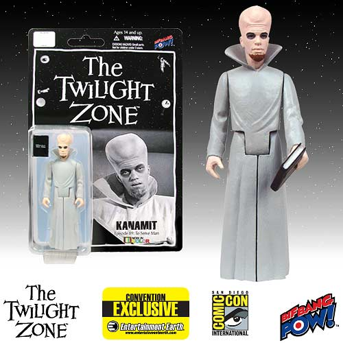 The Twilight Zone Kanamit 3 3/4-Inch Figure Color-Con. Excl.