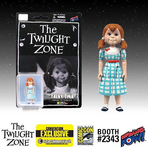 Twilight Zone Talky Tina 3 3/4-Inch Figure Color -Con. Excl.