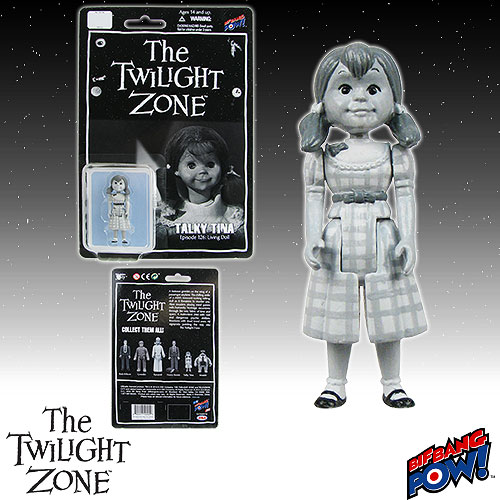 The Twilight Zone Talky Tina 3 3/4-Inch Scale Action Figure