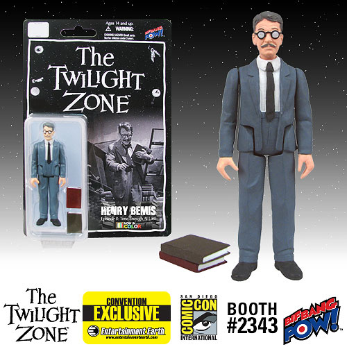 Twilight Zone Henry Bemis 3 3/4-inch Figure Color-Con. Excl.